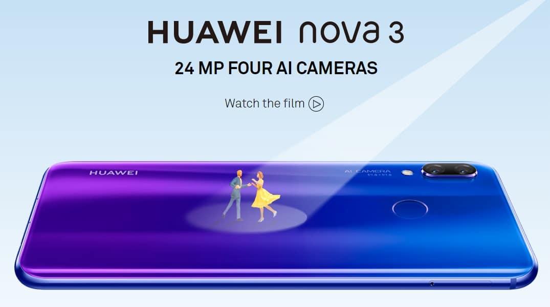 Huawei Nova 3i e Nova 3