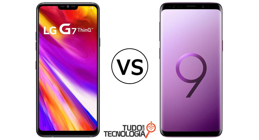 LG G7 ThinQ vs Galaxy S9