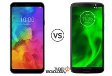 LG Q7+ vs Moto G6
