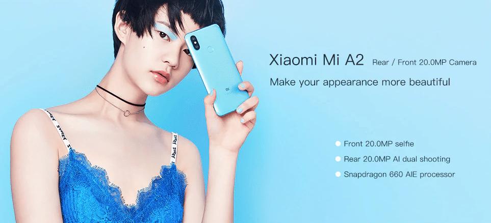 Xiaomi Mi A2 e Mi A2 Lite
