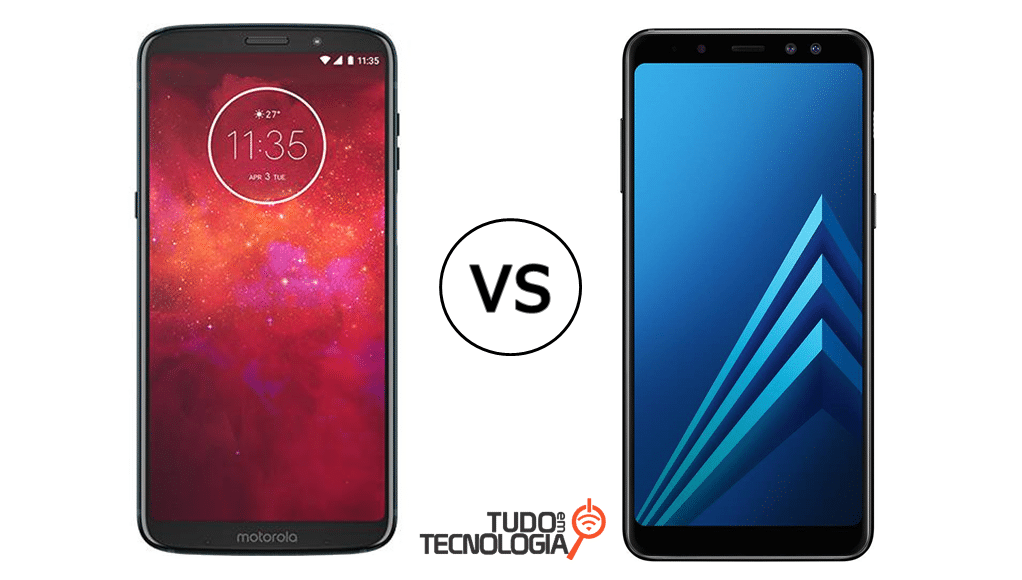 Moto Z3 Play vs Galaxy A8+ 2018