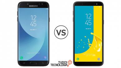 Galaxy J6 vs J7 Pro