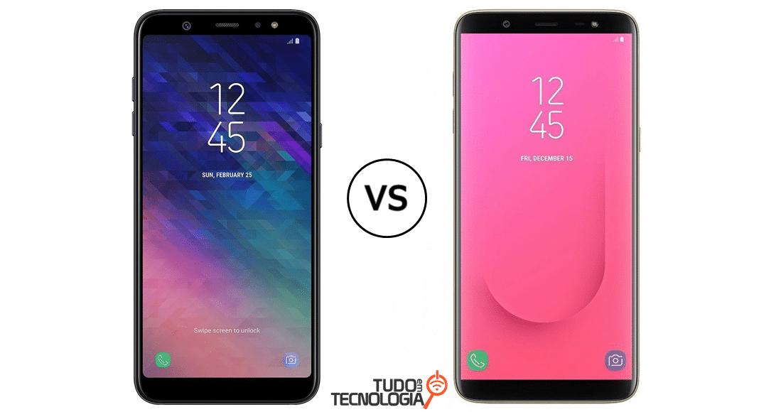 Galaxy J8 vs A6 Plus