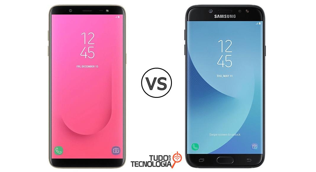 34ed032f9f Galaxy J8 vs J7 Pro  qual Galaxy é melhor  – Tudo em Tecnologia