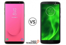 Galaxy J8 vs Moto G6 Plus