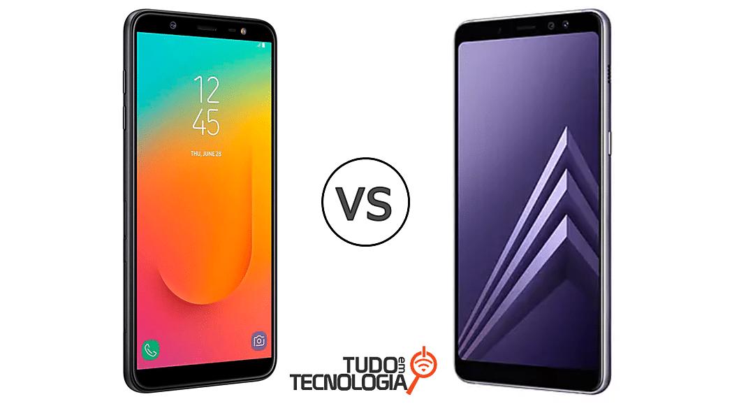 Galaxy J8 vs A8