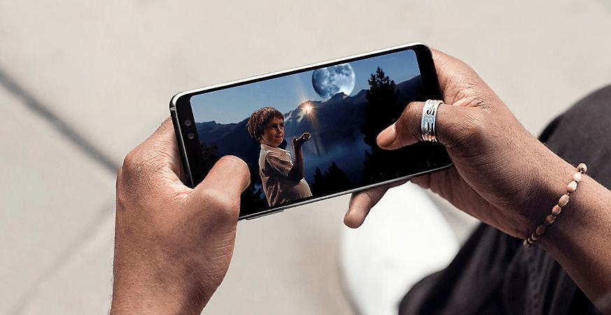 Galaxy A8 promoção