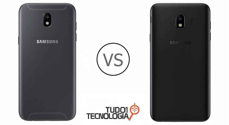 Galaxy J4 vs Galaxy J5 Pro