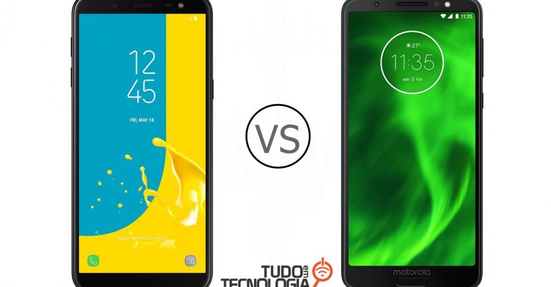Galaxy J6 vs Moto G6