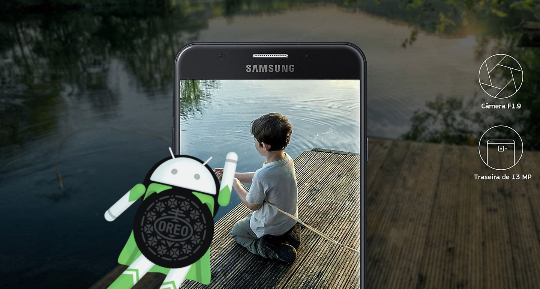 Como atualizar Galaxy J7 Prime para Android 8.1 Oreo