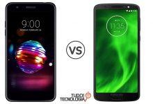 LG K11 vs Moto G6