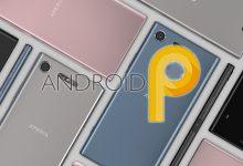 Xperia XZ1 Android 9.0