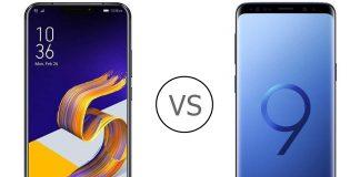 Zenfone 5z vs Galaxy S9