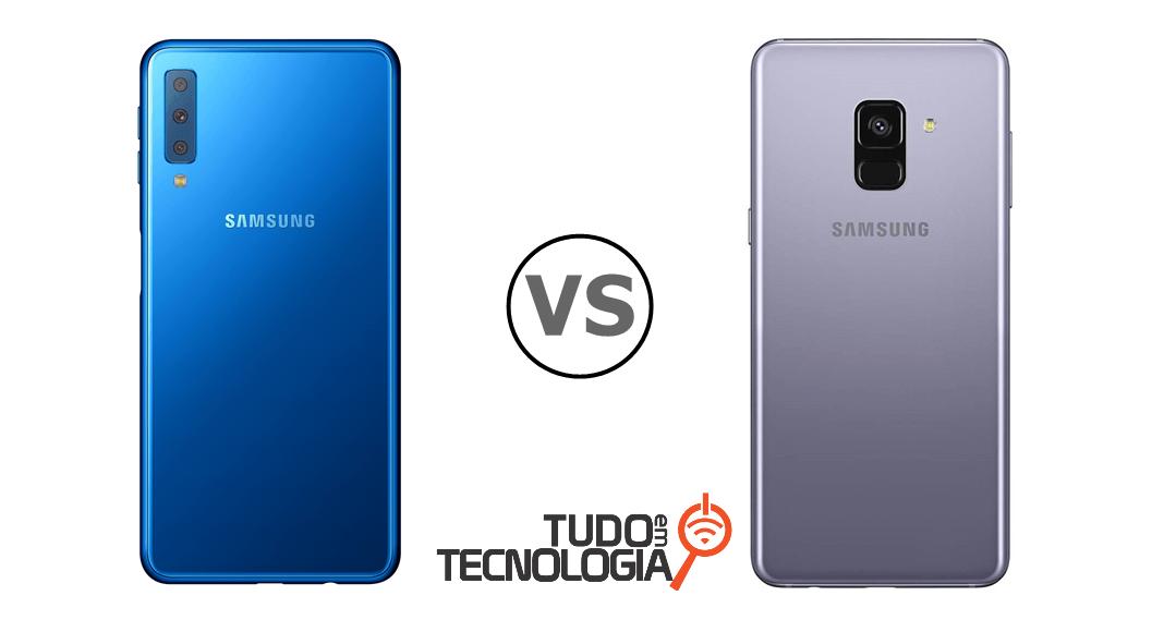 f8e55eb296 Galaxy A7 2018 vs Galaxy A8  qual comprar  – Tudo em Tecnologia