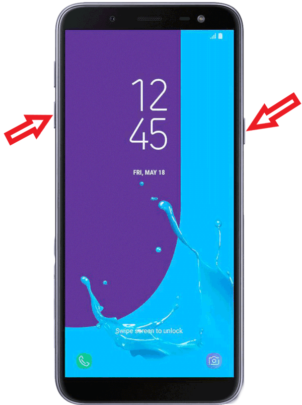 Como tirar print Galaxy J6