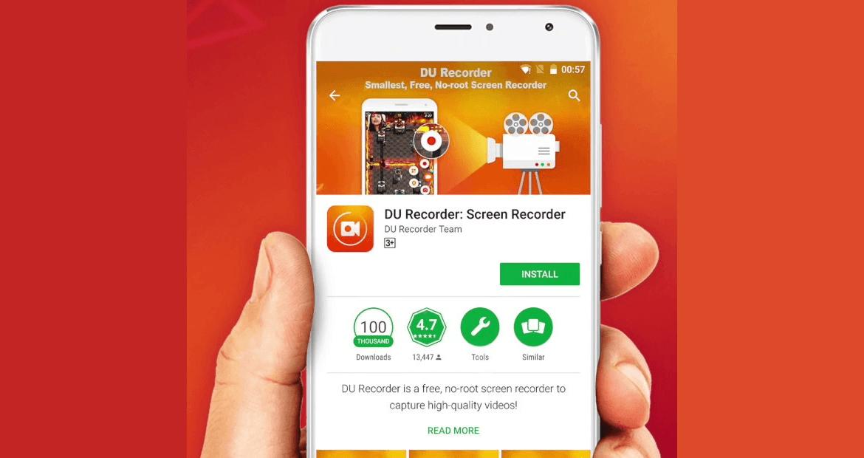 Melhor aplicativo para gravar tela do celular