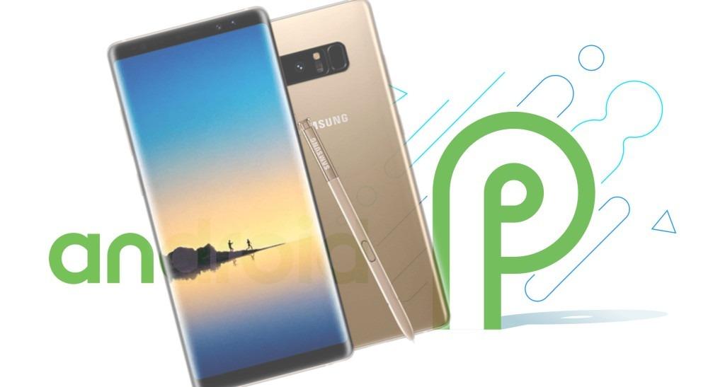 Como atualizar Galaxy Note 8 para Android Pie