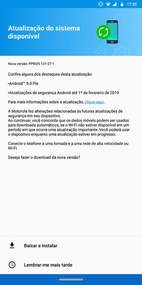 Moto Z3 Play finalmente recebe Android 9 – Tudo em Tecnologia