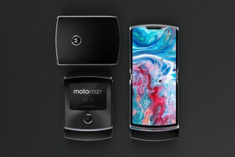 Smartphone Motorola dobrável