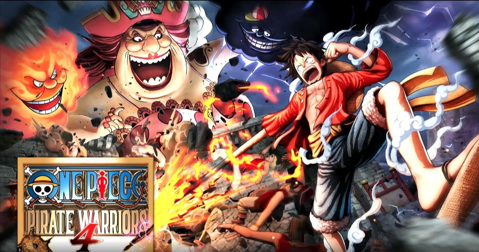 One Piece Pirate Warriors 4 é anunciado – Tudo em Tecnologia