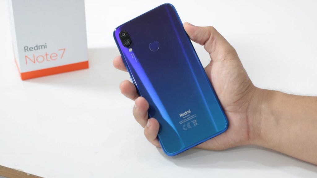 Redmi Note 7 64 GB Azul