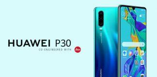 Huawei P30 menor preço
